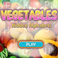 Vegetables Hidden Alphabets